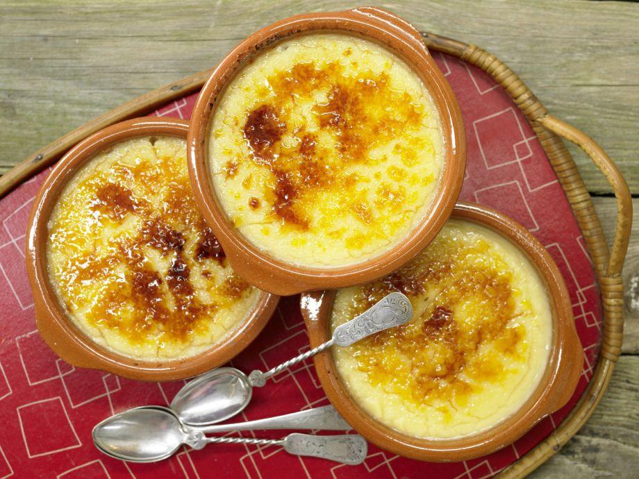 Burnt Caramel Cream - Burnt Caramel Cream - Delicious dessert classic with caramelized tops