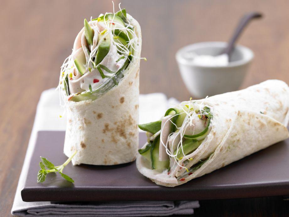 Chicken Wraps - Chicken Wraps - The delicious stuffed tortilla is a veritable powerhouse.