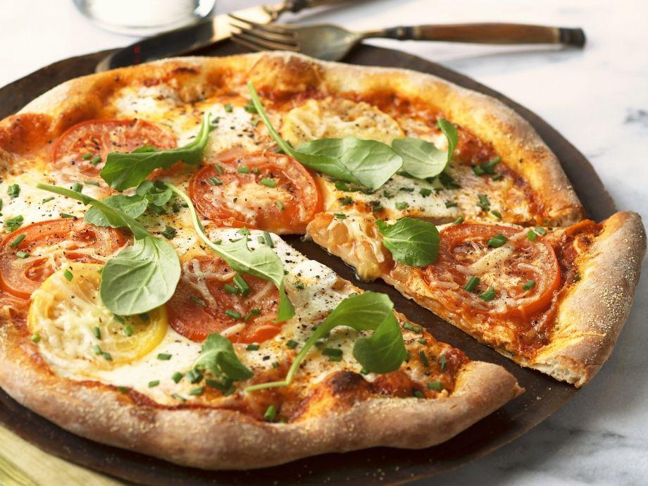 Classic Italian round flatbread