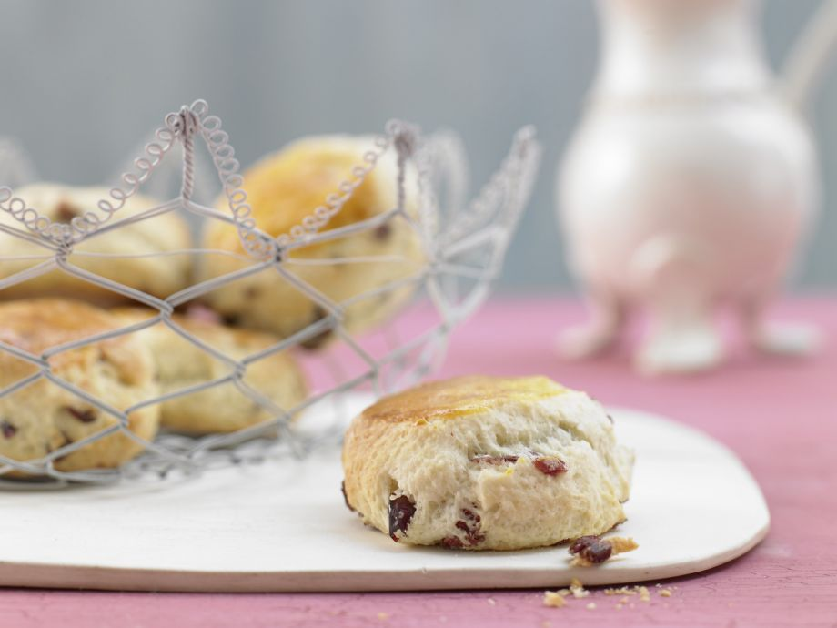 Cranberry Scones - Cranberry Scones - The classic British biscuit is not just for tea