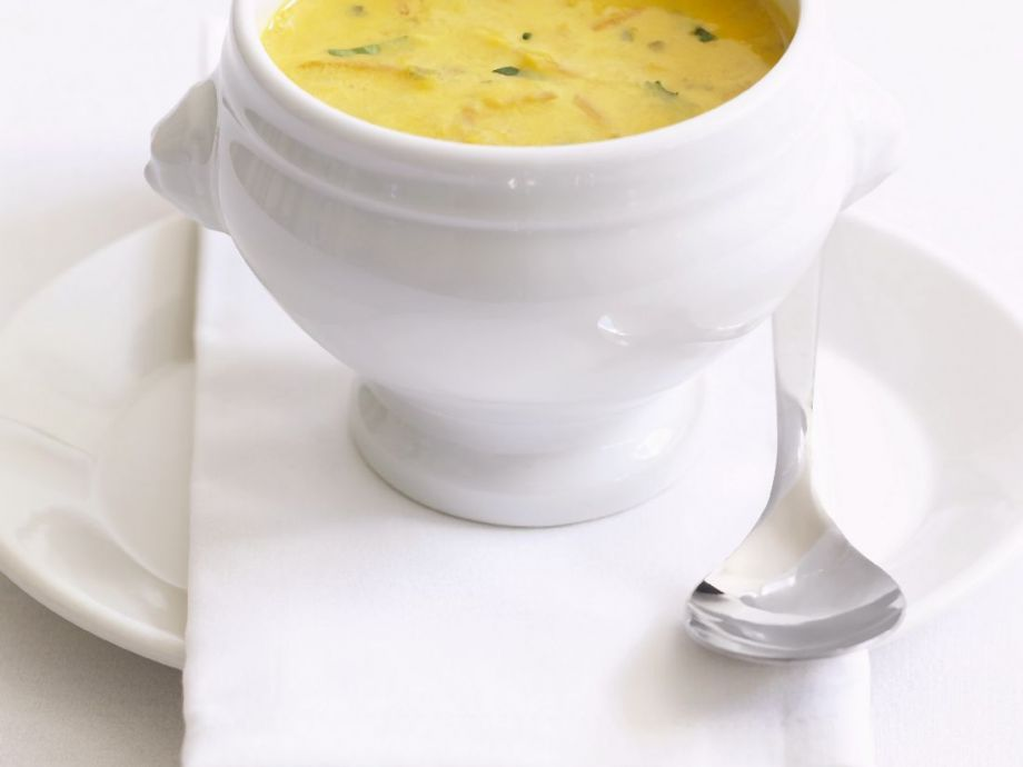Creamy Carrot and Herb Soup