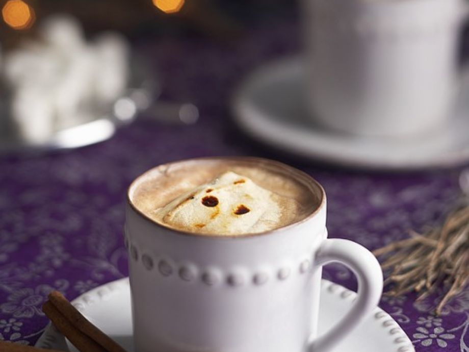 Creamy chocolate drink