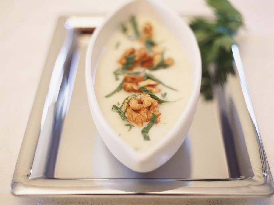 Creamy root veg bisque