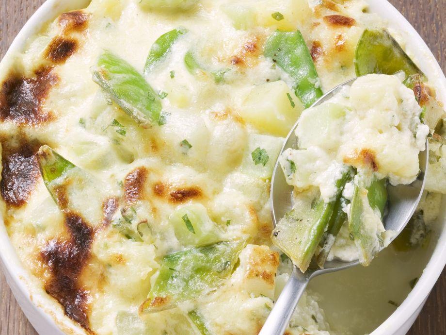 Creamy vegetable bake