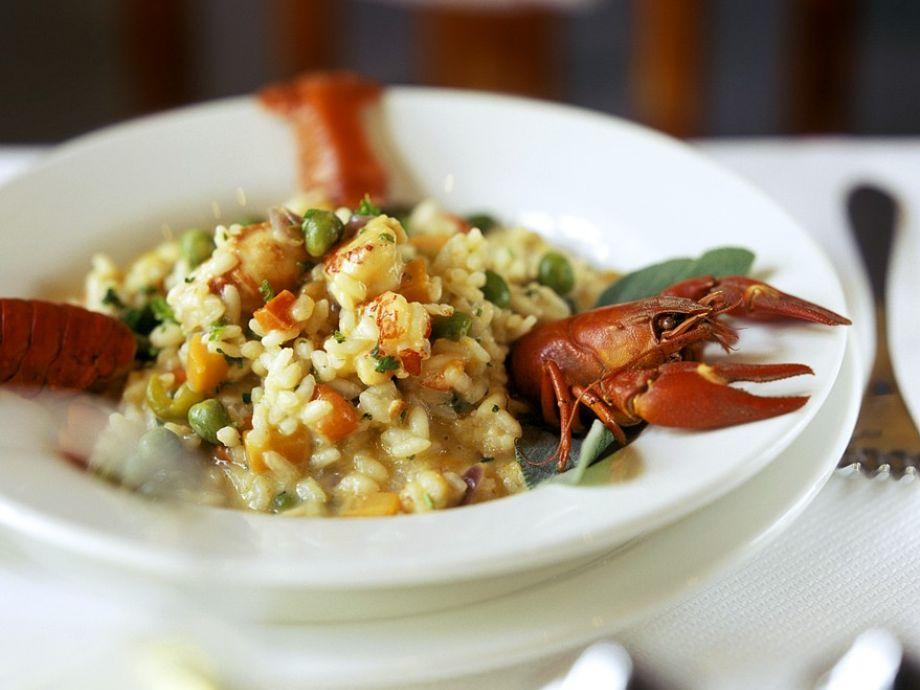 Dublin Bay Prawn Rice Dish