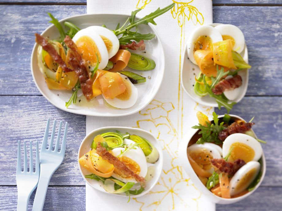 Egg Salad with Arugula - Egg Salad with Arugula - Definitely one of the most delicious ways to eat boiled eggs