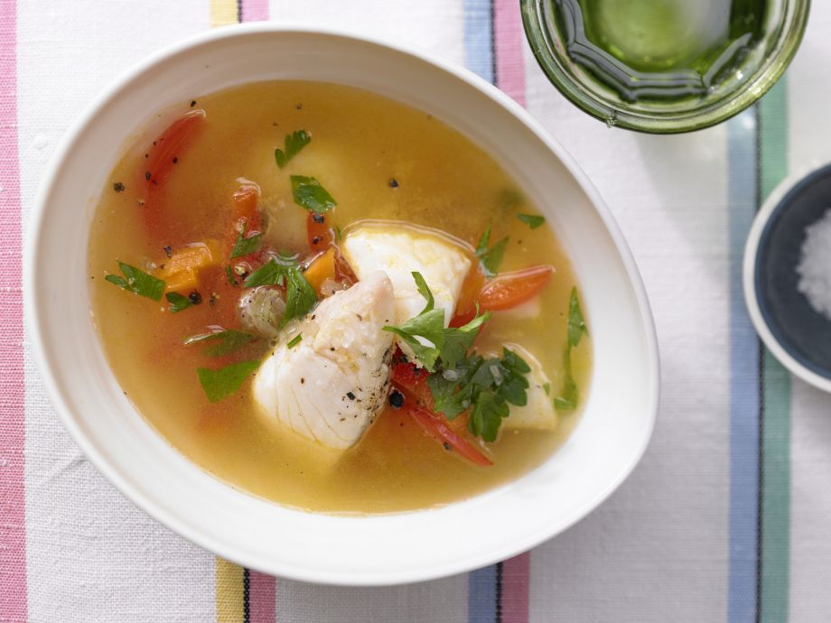 Fast Fish Soup - Fast Fish Soup - Ready-to-eat on a gourmet level