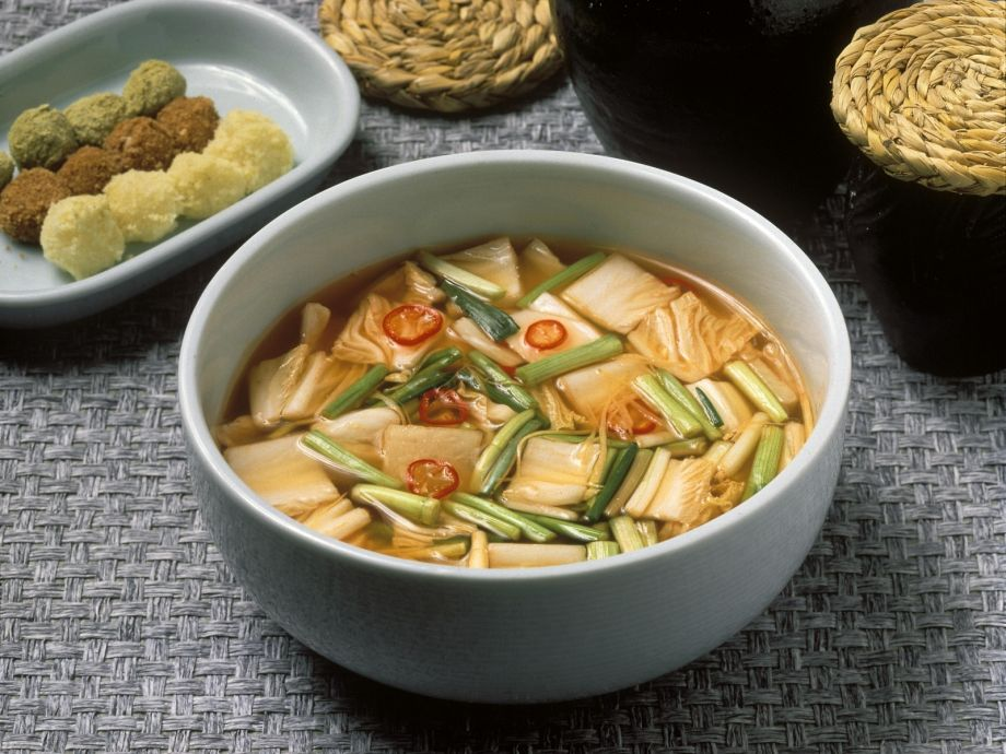 Fermented Cabbage Soup