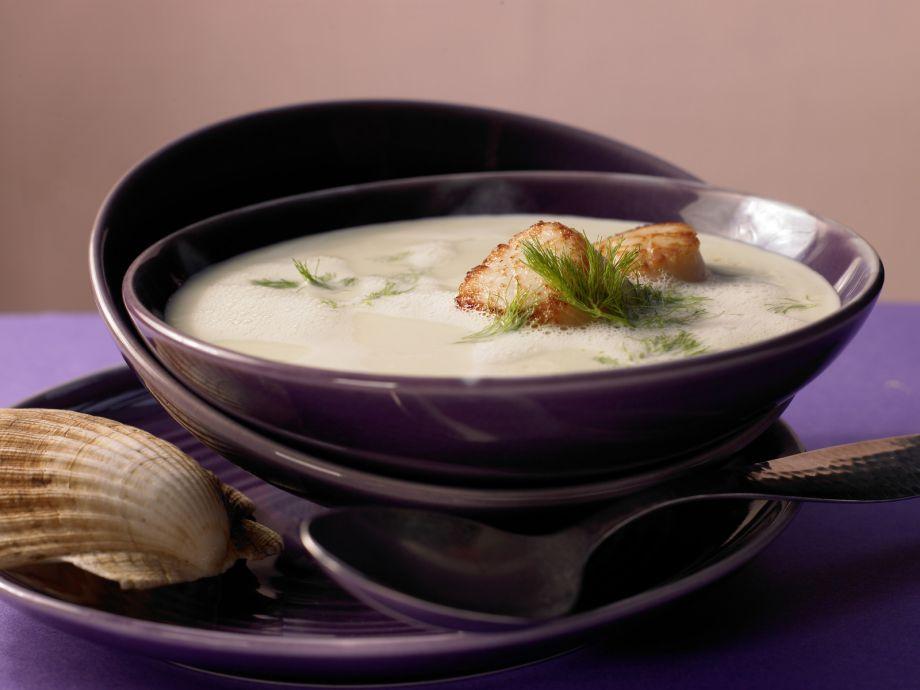 Fine Fennel Soup - Fine Fennel Soup - A refined, stimulating appetizer for a romantic menu