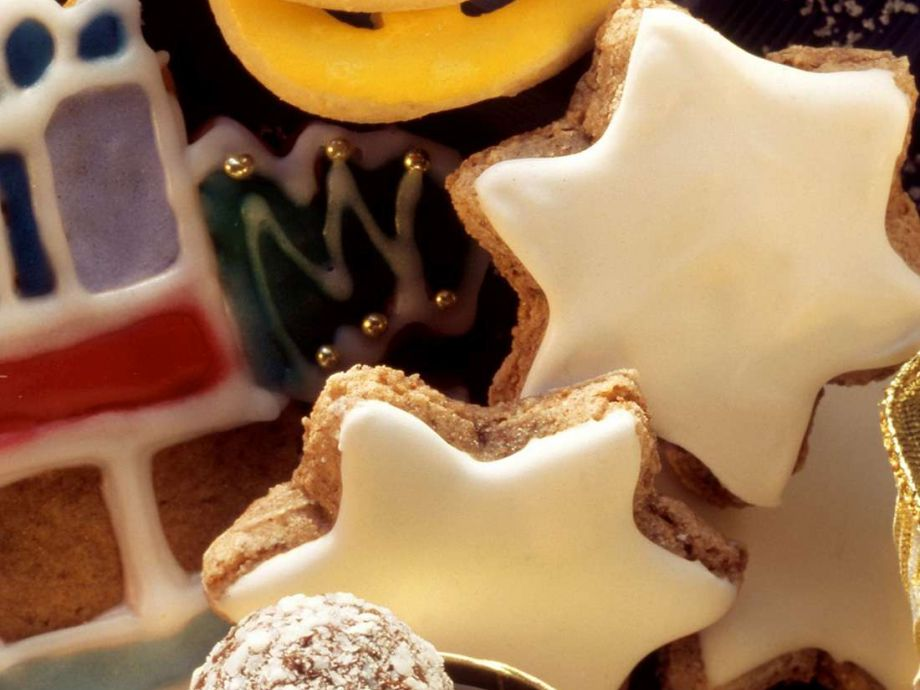 Flourless Cinnamon Star Cookies Zimtsterne