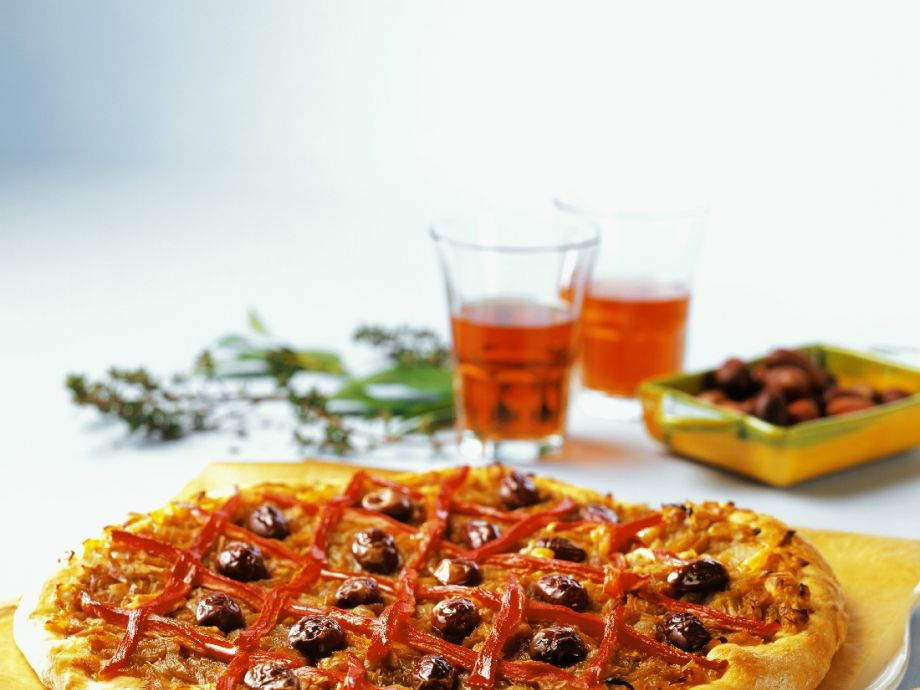 French-style pizza for celiacs
