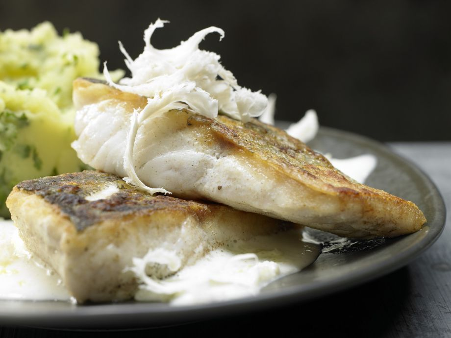 Fried Perch - Fried Perch - Crispy and juicy: fried perch right out of the pan
