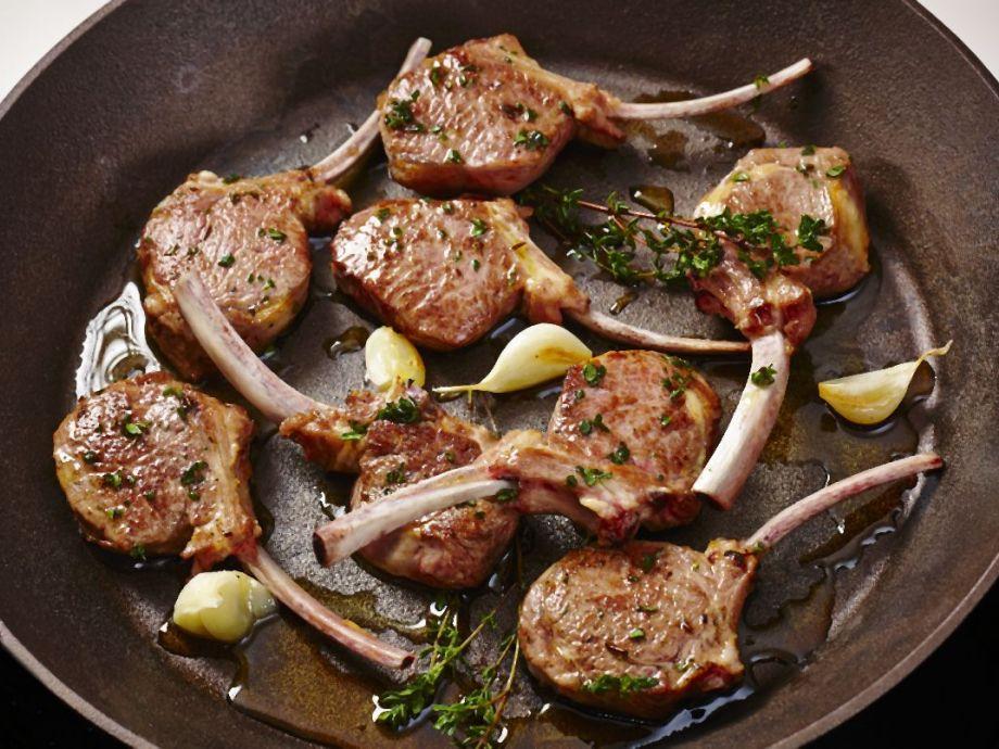 Garlic and Thyme Lamb Chops