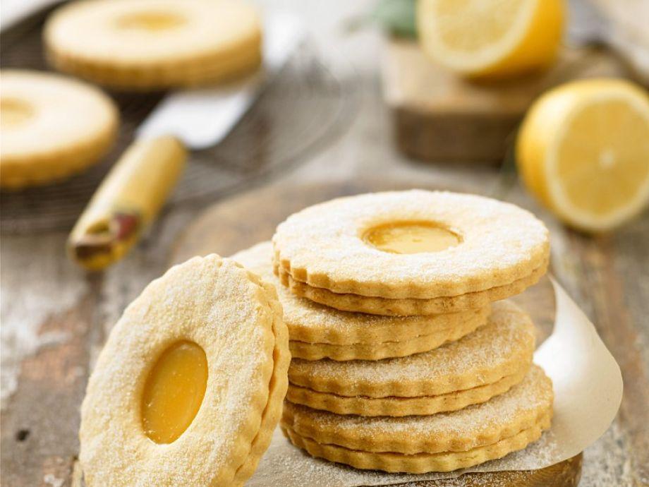 GF Lemon Shortbread Biscuits