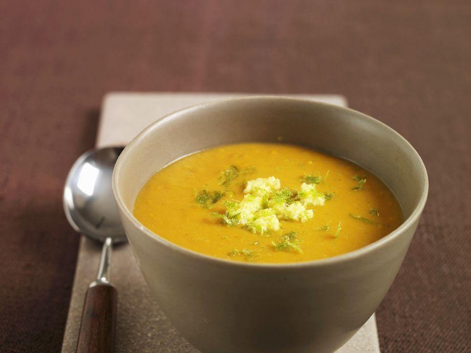 Ginger Sweet Potato Soup