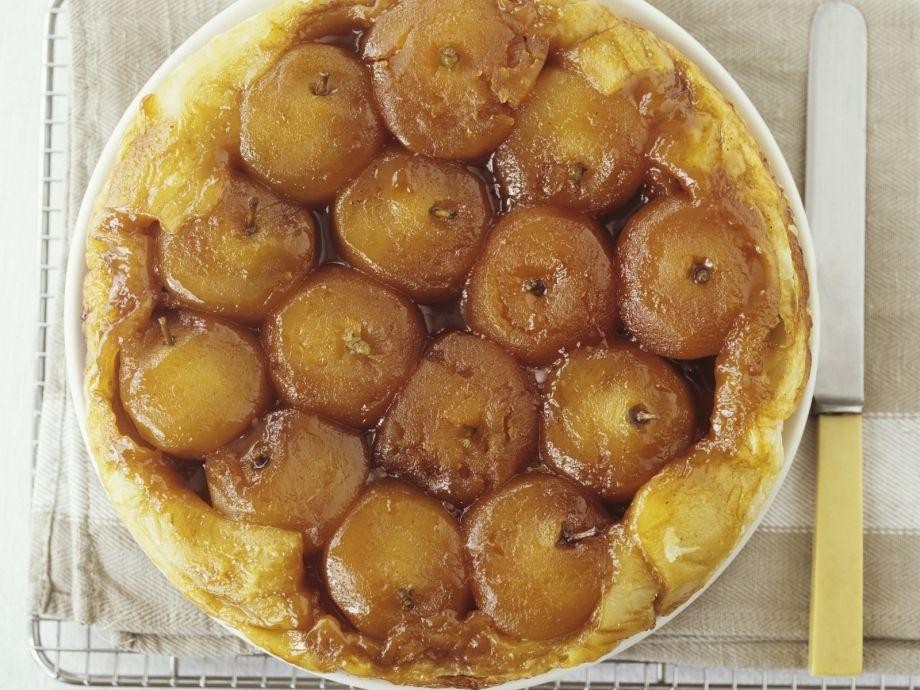 Gluten free upside down apple pie