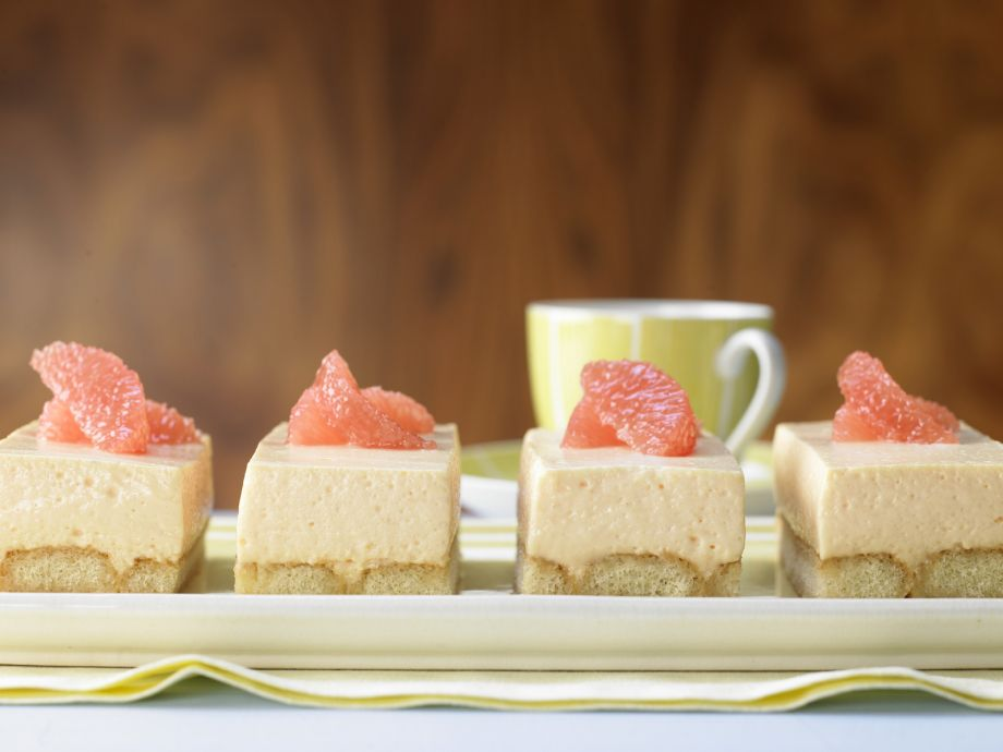 Grapefruit Cream Cakes - Grapefruit Cream Cakes - Guaranteed to be devoured, down to the last crumb