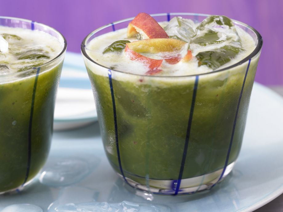 Green Nectarine Drink - Green Nectarine Drink - Interesting mix of sweet fruit and bitter greens
