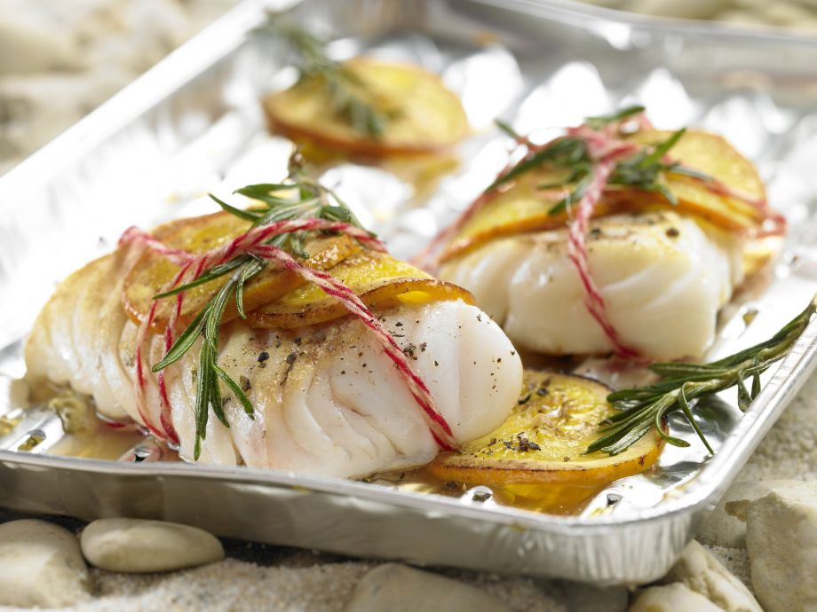 Grilled Cod Fillets - Grilled Cod Fillets - Extra flavorful and extremely low in fat and calories