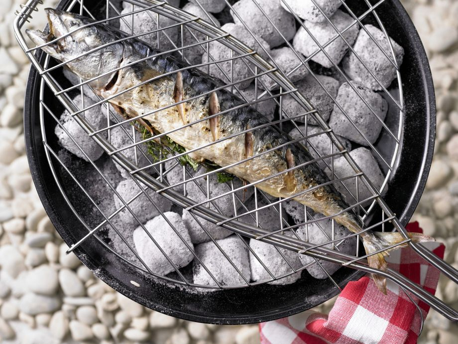 """Grilled Mackerel with Herbs - Grilled Mackerel with Herbs - Can even little fish have a big taste of the sea? The answer here is a resounding """"yes!"""""""