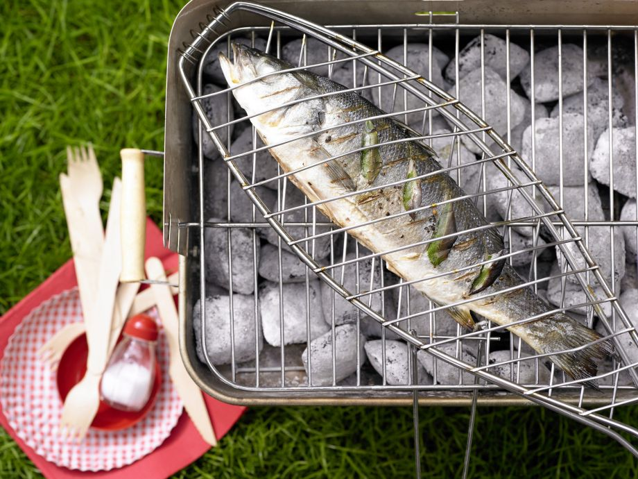 Grilled Sea Bass - Grilled Sea Bass - Simple but elegant, and not just for fish fans