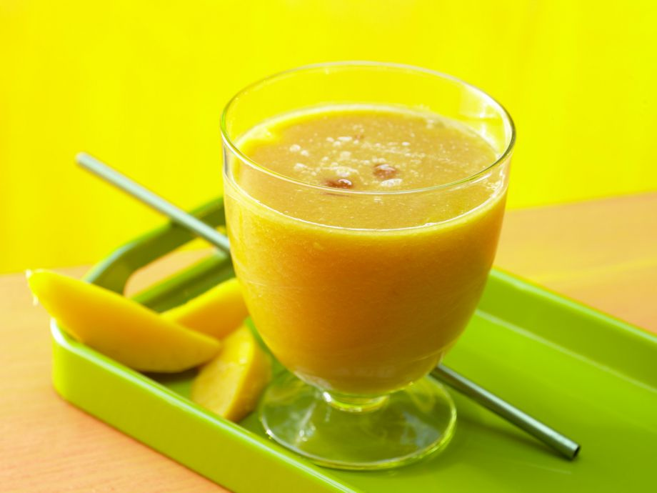 Guava-Mango Drink - Guava-Mango Drink - Appetizing to look at and a pleasure to sip