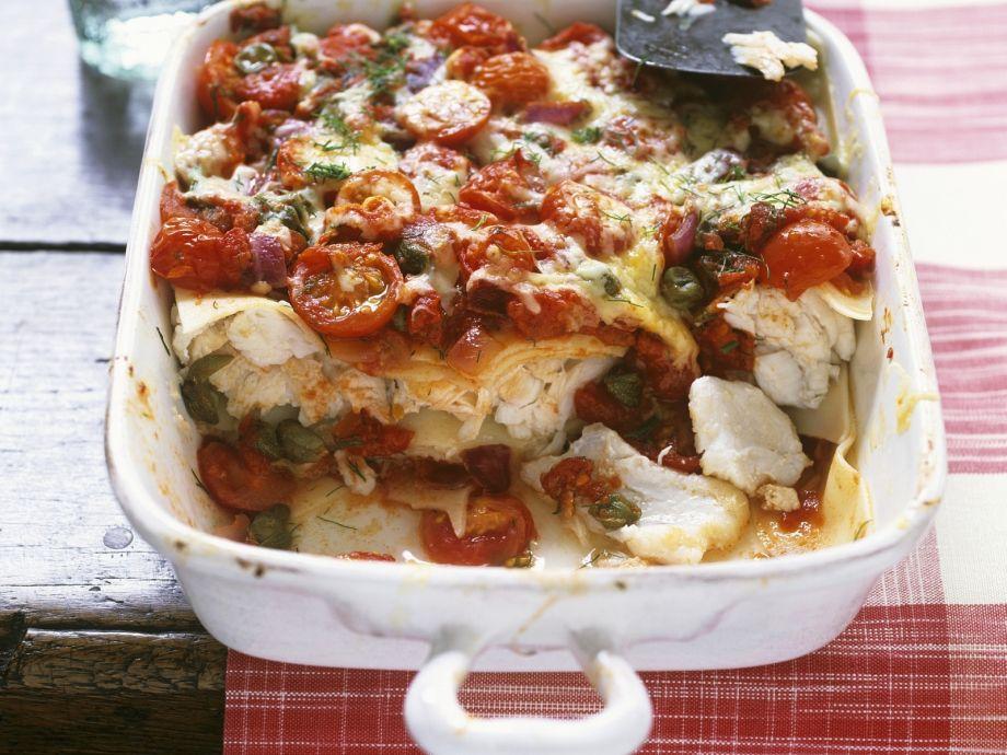 Haddock Lasagna