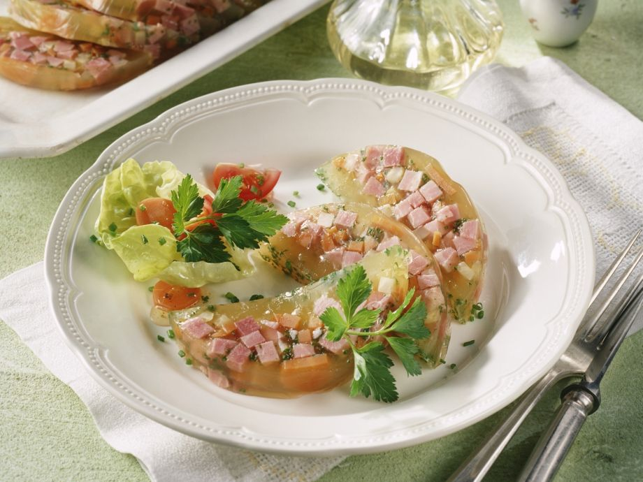 Ham and Parsley in Aspic