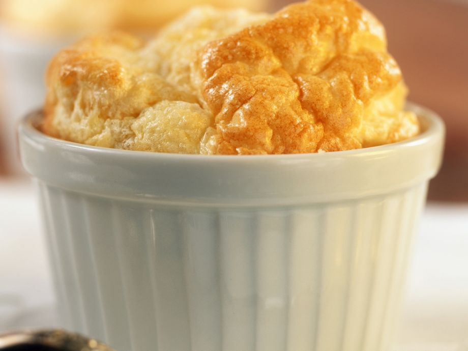 Risen savoury puddings