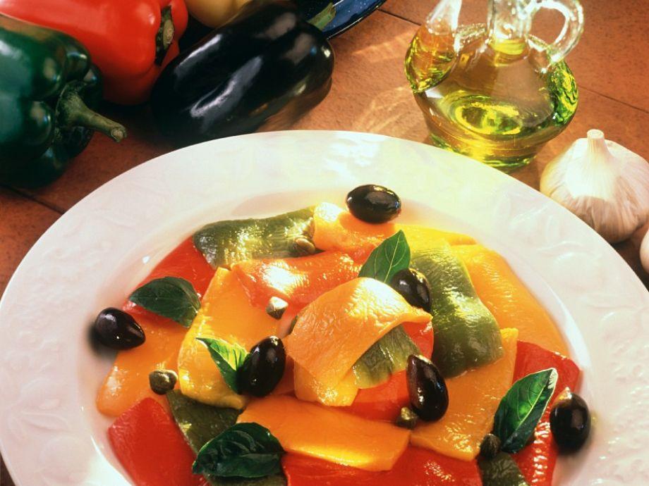 Italian pepper salad