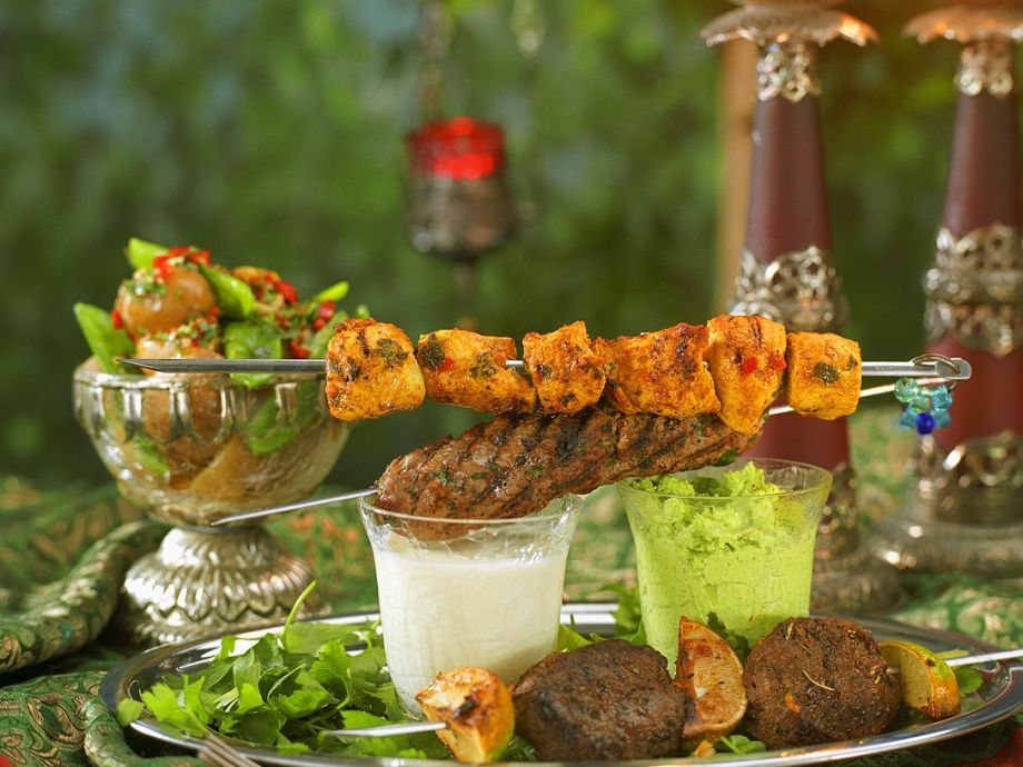 Kebabs and Dips