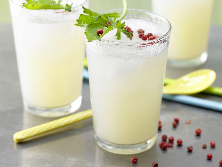 Kohlrabi Cocktail - Kohlrabi Cocktail - A peppery drink for health-conscious gourmets!