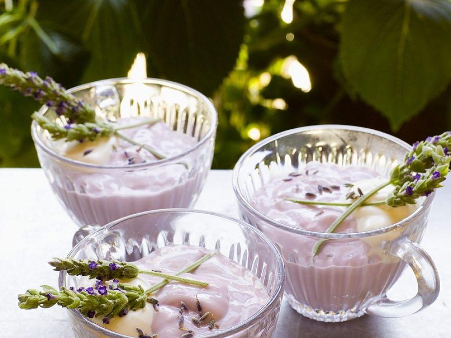 Lavender Pudding