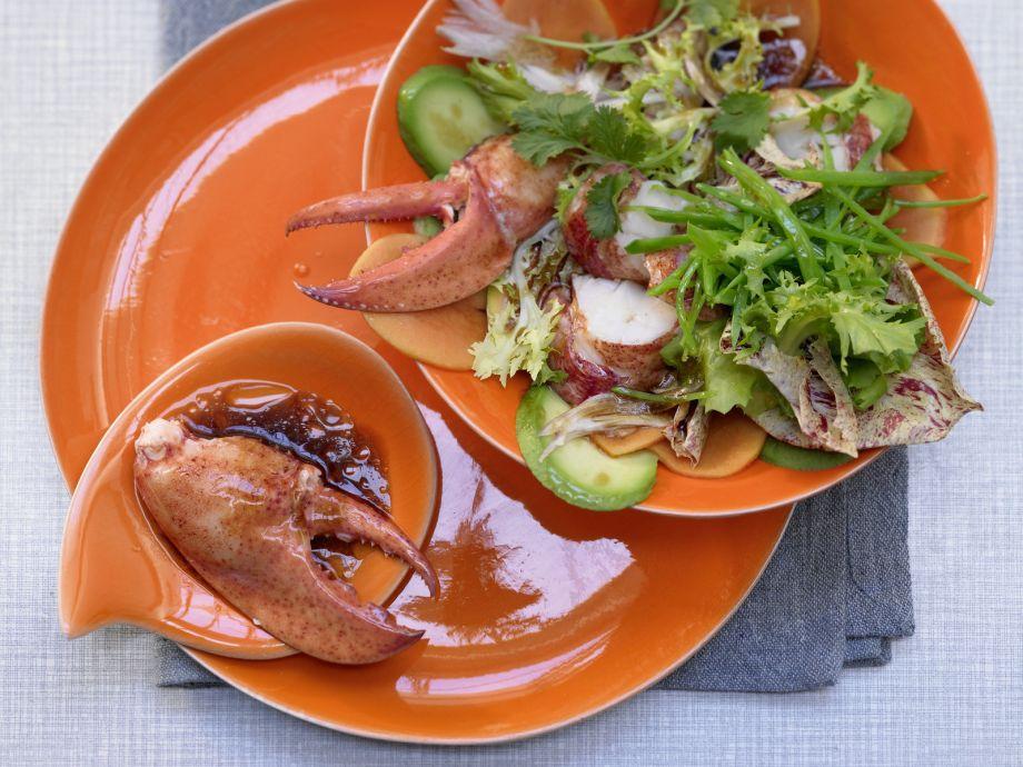 Lobster Papaya Salad - Lobster Papaya Salad - A special treat