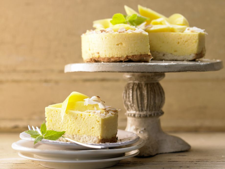 Mango Mousse Cake - Mango Mousse Cake - Just a little sinful, light and creamy