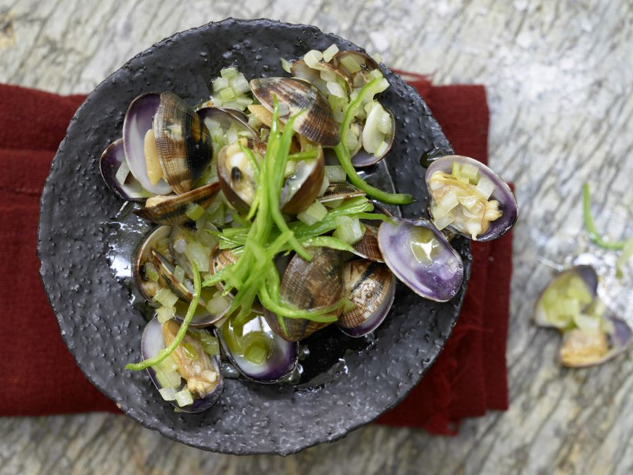 Marinated Clams - Clams - A great way for a beginning cook to impress friends