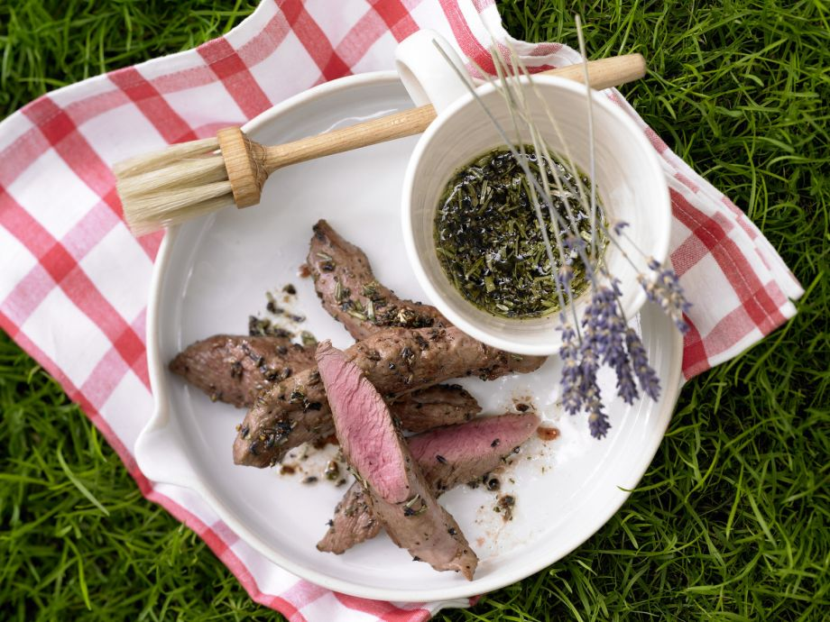 Marinated Lamb - Marinated Lamb - Transports you to a table in the South of France - with the scent of thyme and lavender