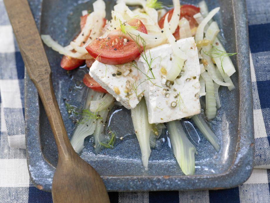 Marinated Tofu - Marinated Tofu - Garlic fans get their money's worth in this dish!