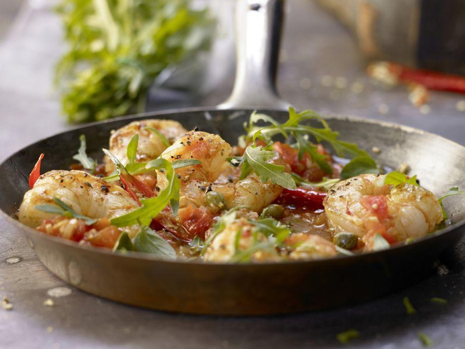 Mediterranean Shrimp - Mediterranean Shrimp - Some like it spicy - enjoy the Mediterranean flavors!