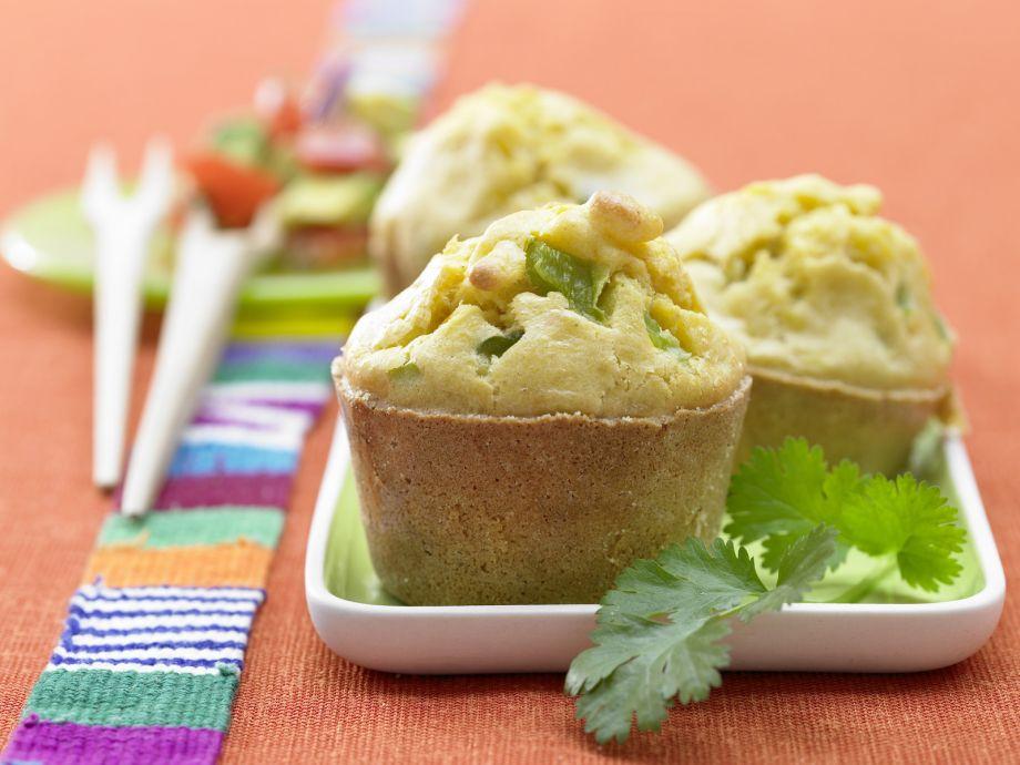 Mexican Corn Custard - Mexican Corn Custard - Typical Tex-Mex fare: the winning combination of corn and avocado