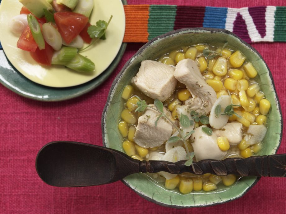 Mexican Lime Soup - Mexican Lime Soup - Something different from a chili enchilada or a taco—a must!