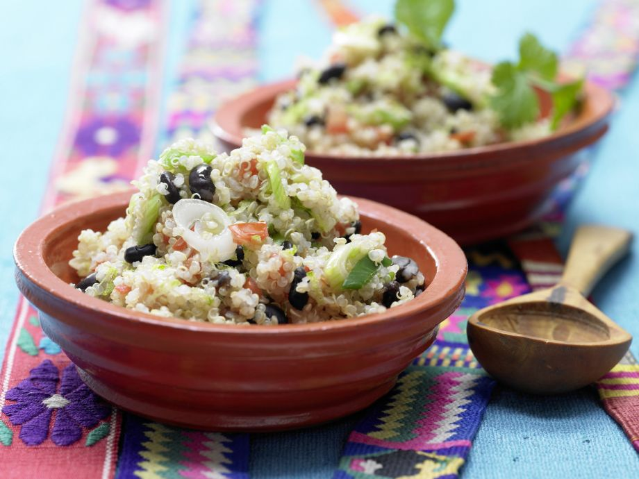 Mexican Quinoa - Mexican Quinoa - A delicious vegetarian option packed with protein