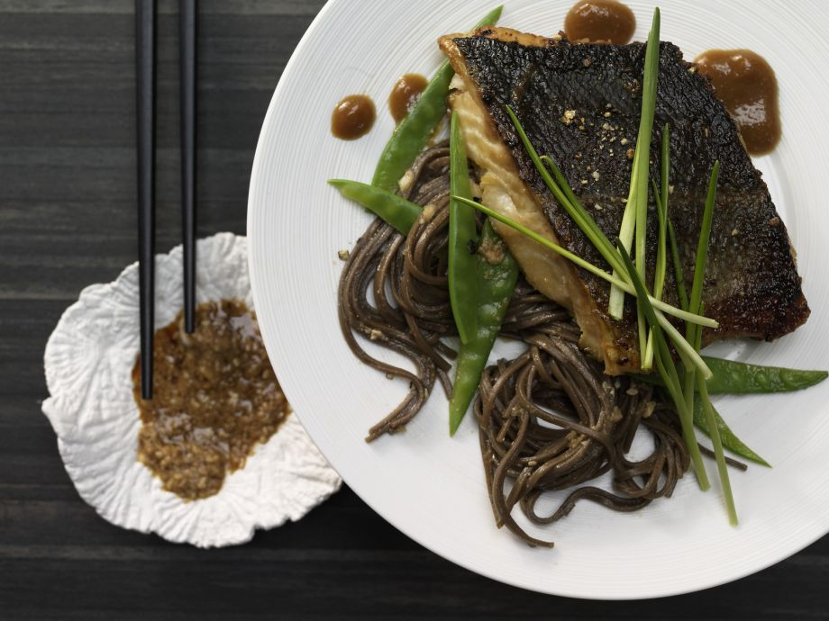 Marinated Cod - Marinated Cod - The fish swims in a sea of Japanese flavors