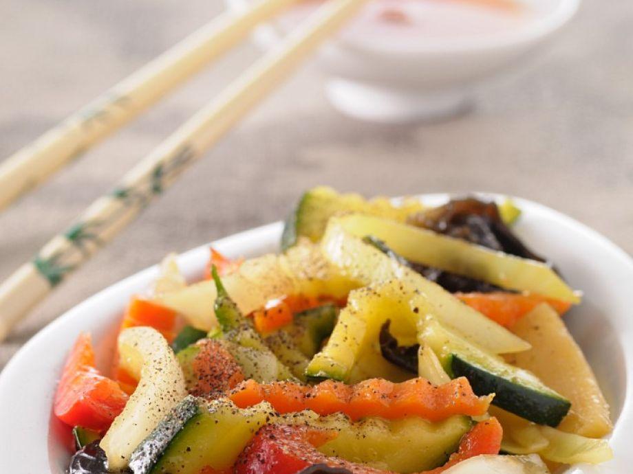 Mixed Chinese veg
