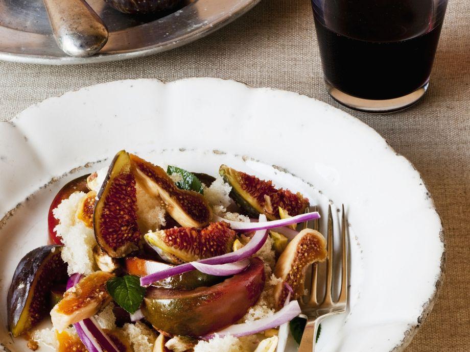 Panzanella with Figs