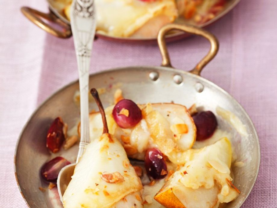 Pear gratin