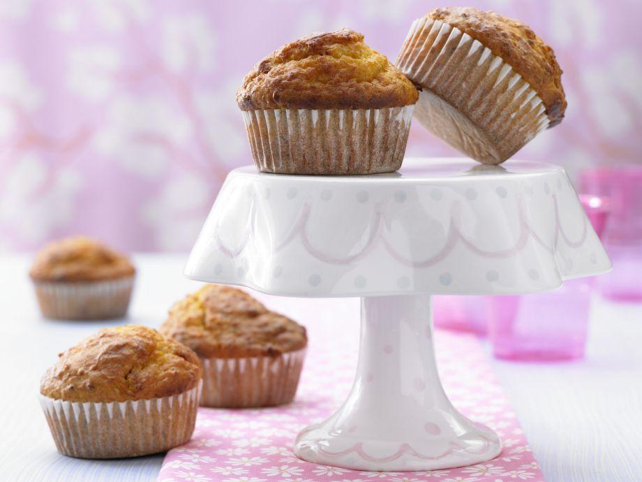 Pumpkin Nut Muffins - Pumpkin Nut Muffins - Moist pastries that little children love eating out-of-hand!