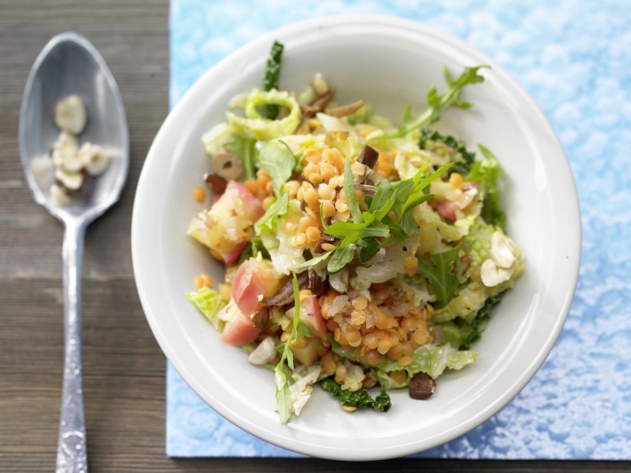 Savoy Cabbage-Apple Ragout - Savoy Cabbage-Apple Ragout - Sophisticated mix of hearty vegetables and soft-sweet fruits