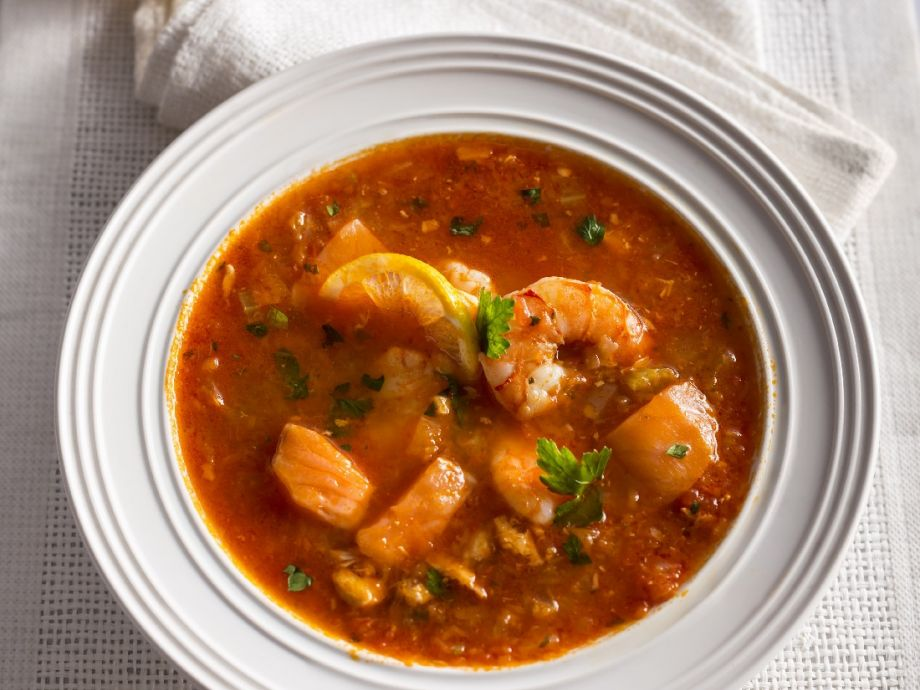 Shrimp and Fish Stew