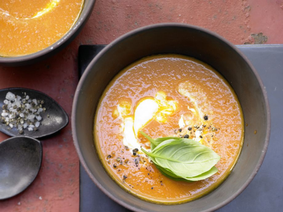 Smarter Tomato Soup - Smarter Tomato Soup - Mediterranean tomato soup with wonderful flavors: A treat for the whole family